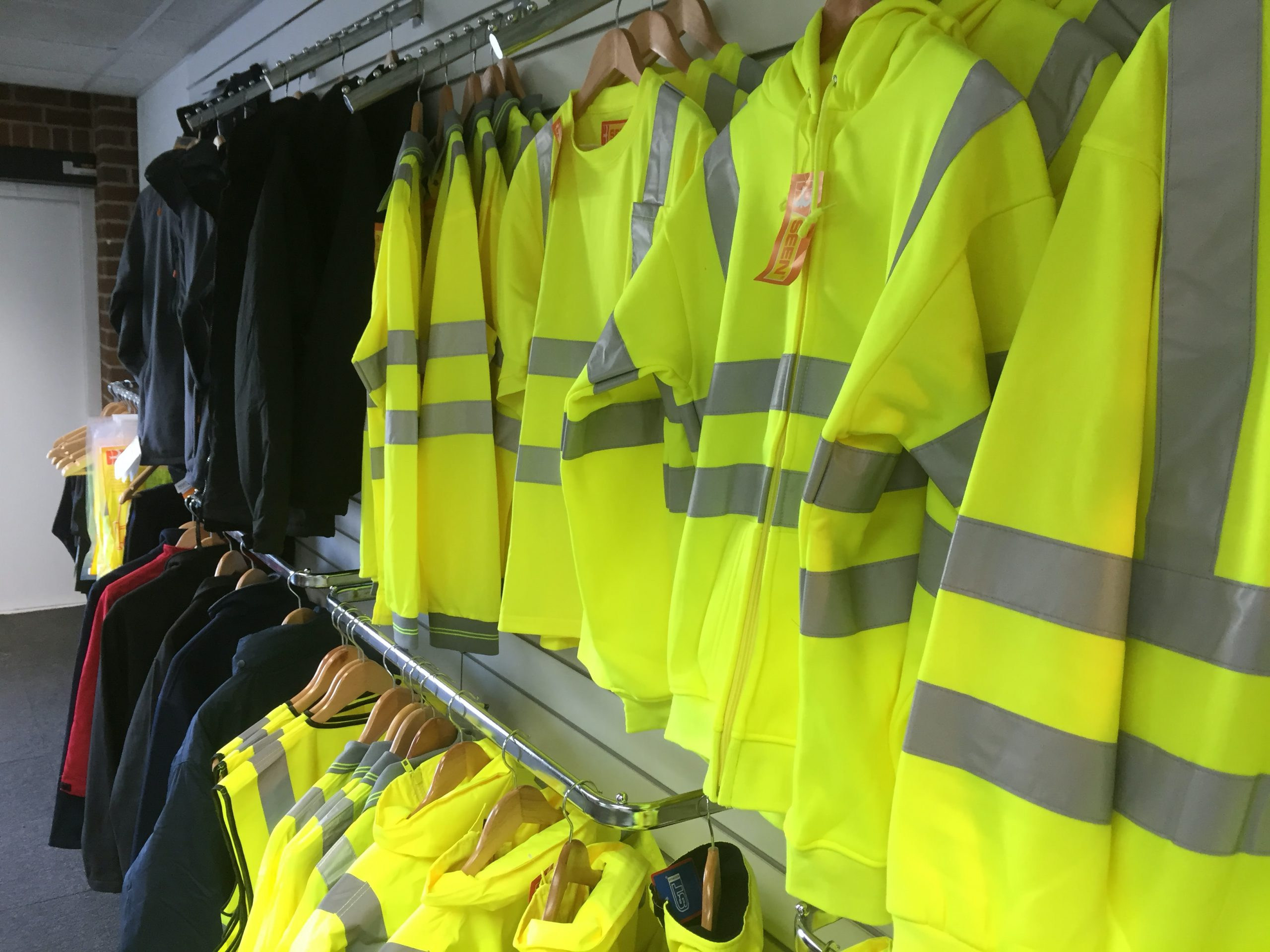 Workwear and PPE Showroom